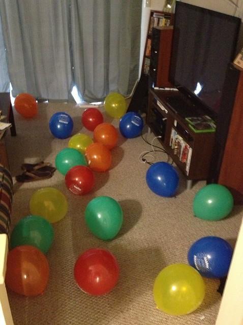 birthday balloons!