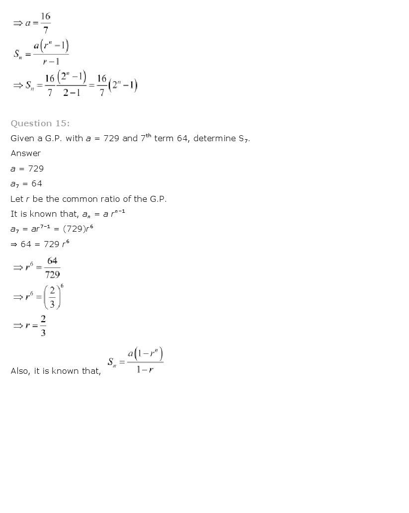 ch 9 solutions These ncert solutions for class 10 of maths subject includes detailed answers  of all the questions in chapter 9 –some applications of.