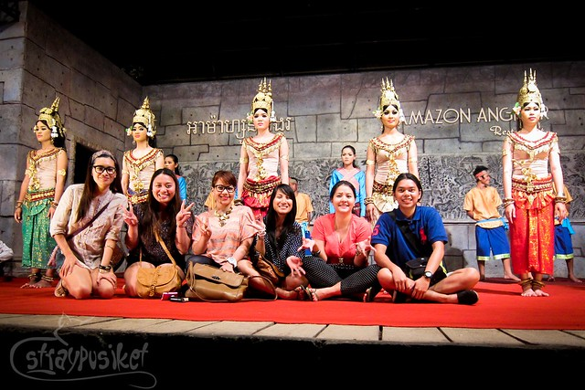Photo op with the Apsara Dancers