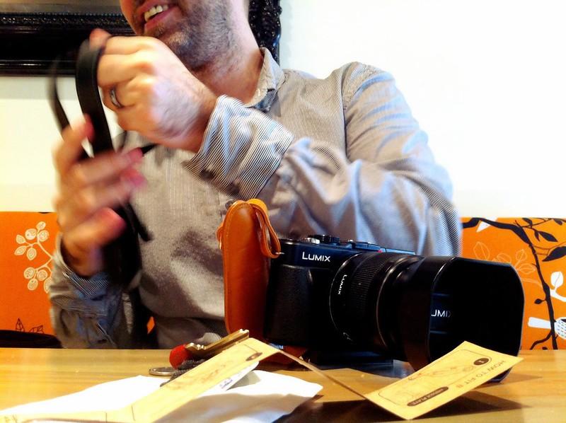 Aidan's new camera strap 2