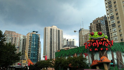 Rain over rainforest by dharder9475