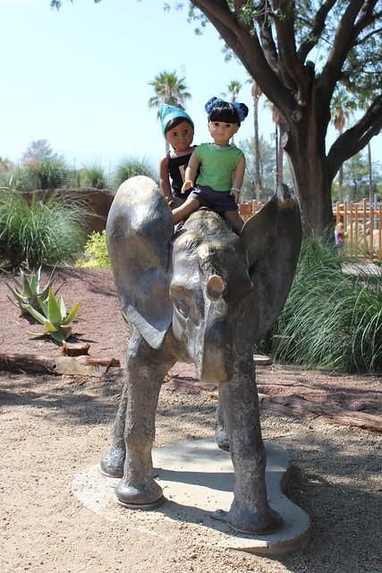 Reid Park Zoo Kids Eating
