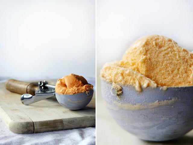 how to make thai iced tea ice cream