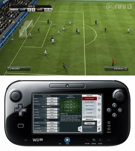 FIFA 13 Won't Be the Same With Wii U Gamepad Controls