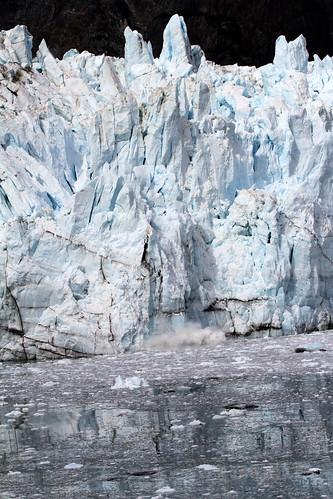 Glacier Bay - Calving Again