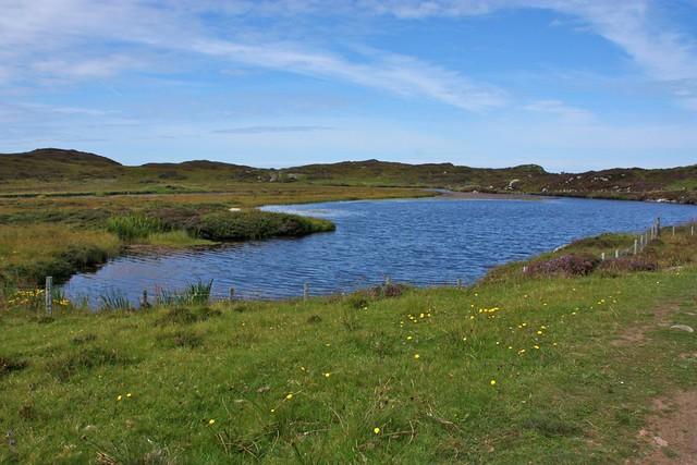 Loch Staonaig on Iona