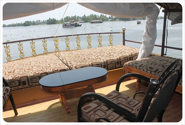 backwater houseboat sundeck