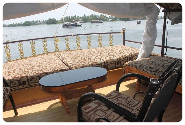 backwater houseboat sundeck