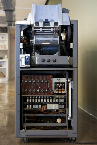 IBM 83 card sorter, logic side view