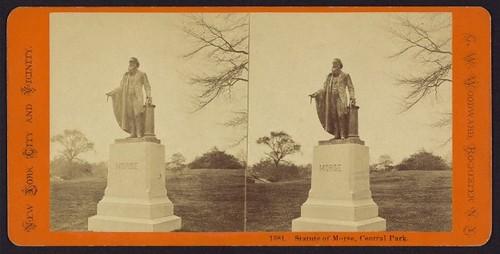 Byron Pickett's Samuel F.B. Morse statue