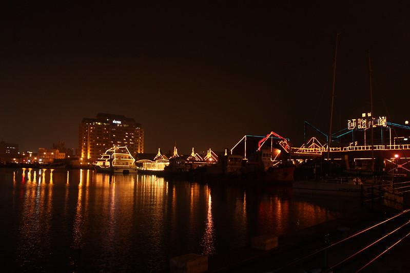 赤レンガの夜景 その2