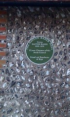 Photo of Green plaque number 11055