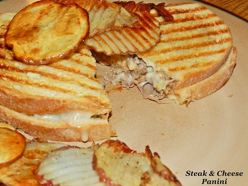 Steak & Cheese Panini (5)