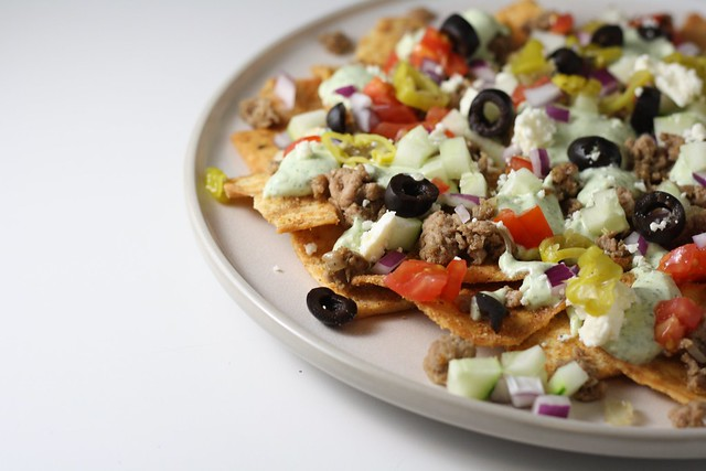 Greek Nachos | Flickr - Photo Sharing!