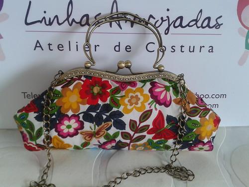 Clutch Butterflies Disponível by ♥Linhas Arrojadas Atelier de costura♥Sonyaxana