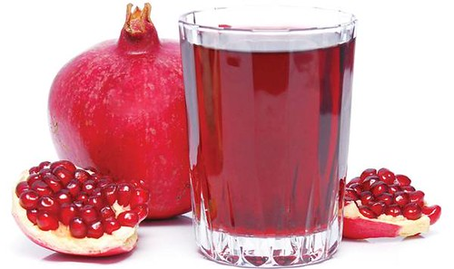 2 Pomegranate juice