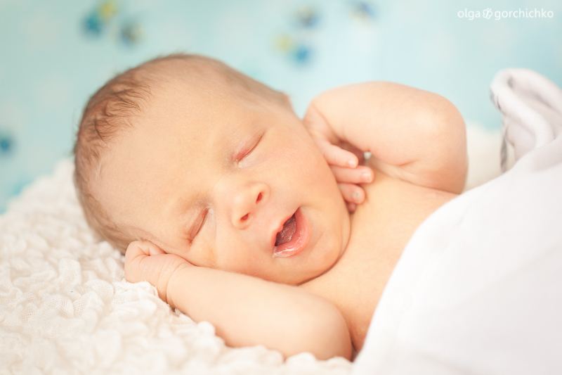Фотосессия новорожденного Ромы, 11 дней