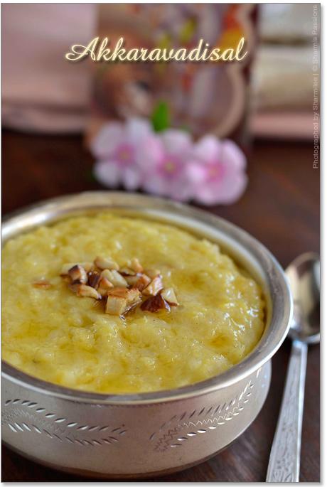 Akkaravadisal - Sweet Milk Pongal