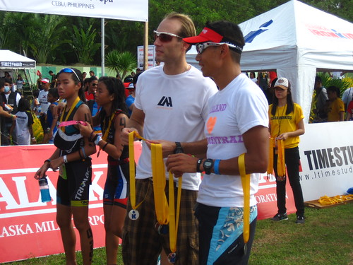 Ironman 70.3 Philippines: Dan and Arland