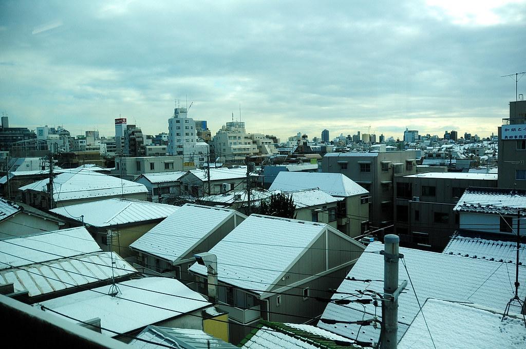 2012-01-24 東京鐵路積雪