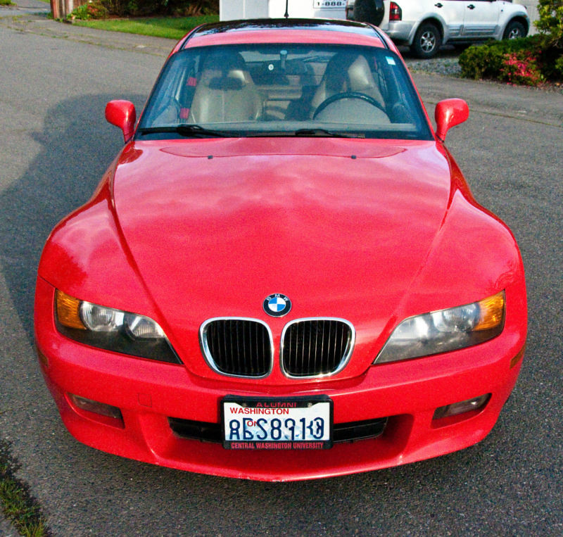 1999 Z3 Coupe | Hellrot Red | Beige