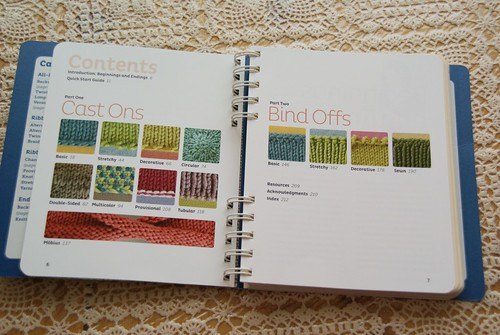 Cast On Bind Off Contents