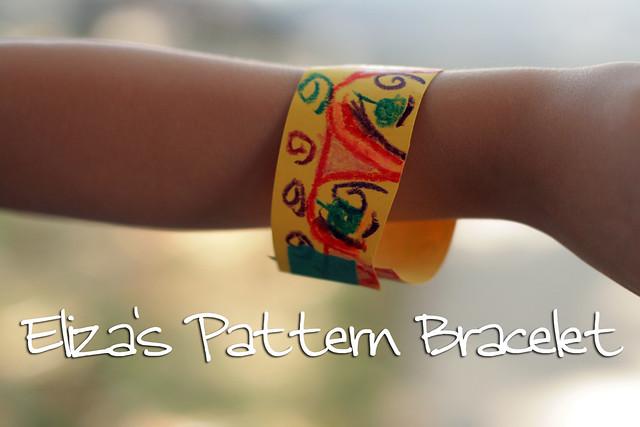 Eliza's Pattern Bracelet