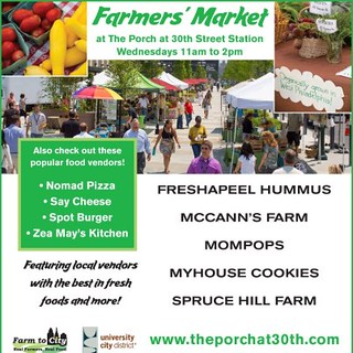 Farmers' Market promotion (by: University City District)
