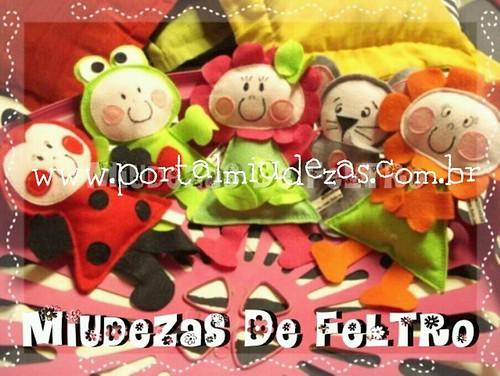 Bonequinhas Jardim by miudezas_miudezas