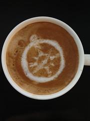 Today's latte, Safari.