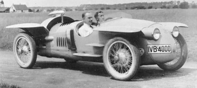 1923 Benz Tropfenwagen (Porsche design) 1