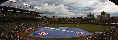 Rain Delay at Wrigley