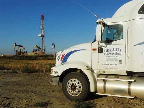 Oil rigs everywhere