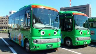 めぐりん。 岡山市内 循環バス