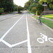 Bike Lane With Buffer - Win