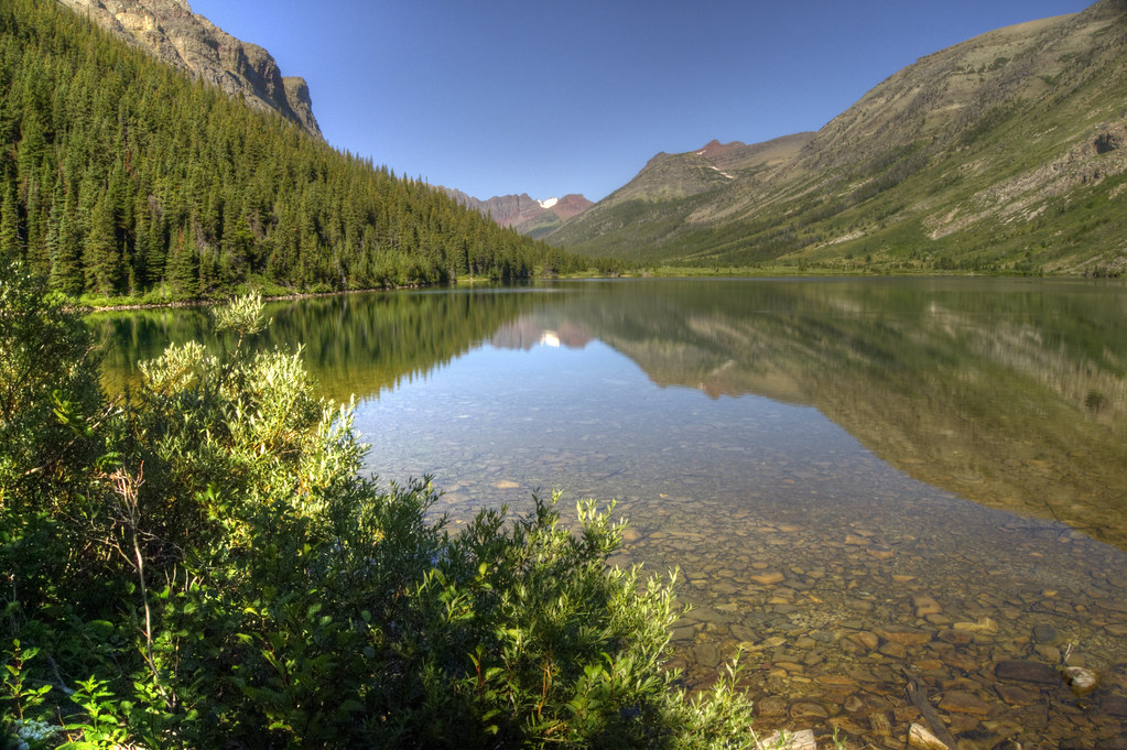 R Nine T >> A Backpacker's Life: Helen Lake in Glacier National Park