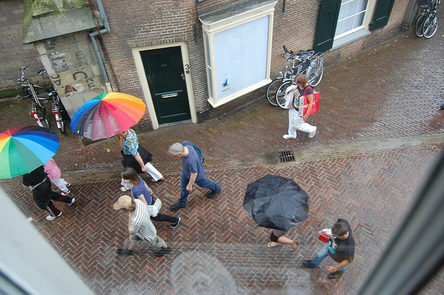 Rainy days in Deventer