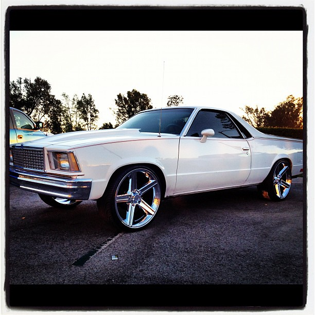 El Camino On 22s Name