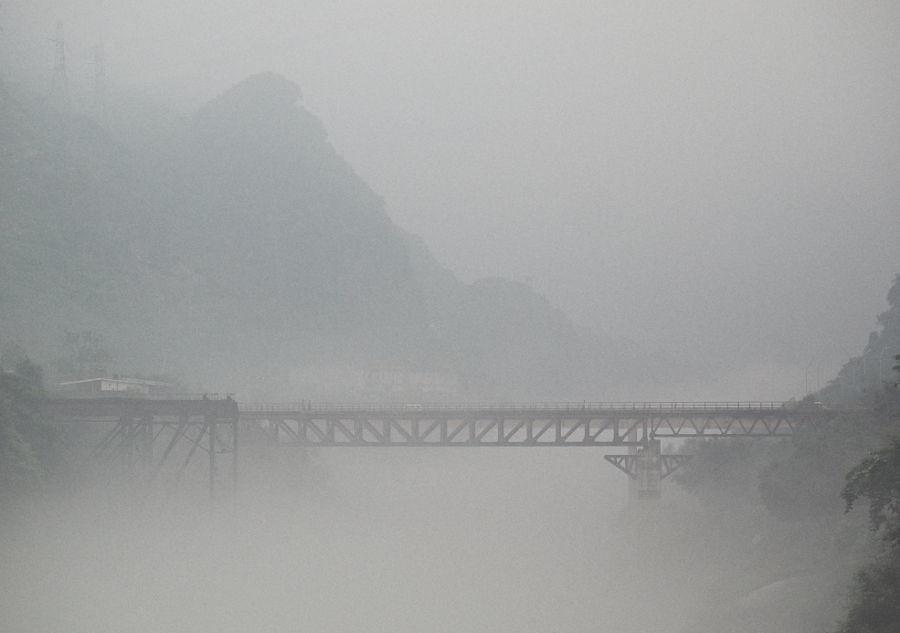 Himachal Pradesh. Morning mist