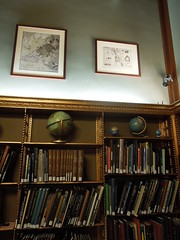 12 08 15 NY Public Library - Map room bookshelf