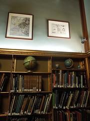 12 08 15 NY Public Library - Map room bookshelf