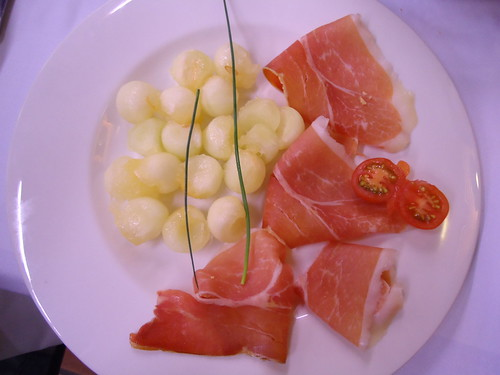 Calamocha (Teruel) | Hotel Fidalgo | Melón con jamón