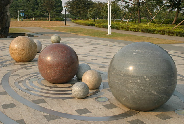 scale solar system marbles - photo #1