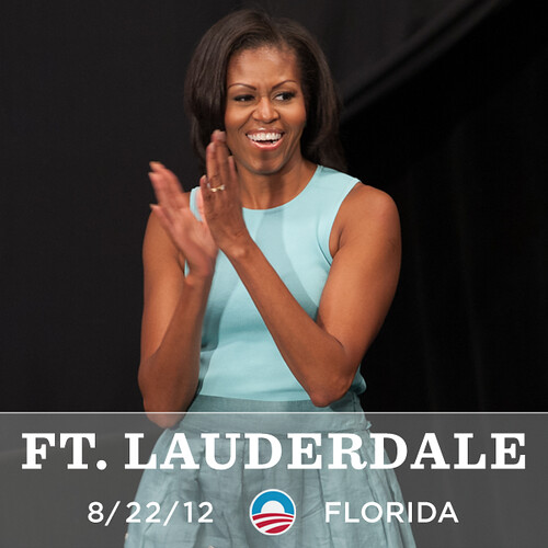 Michelle Obama is coming to Ft. Lauderdale