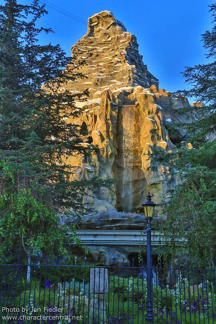 Disneyland July 2012 - The Matterhorn Bobsleds