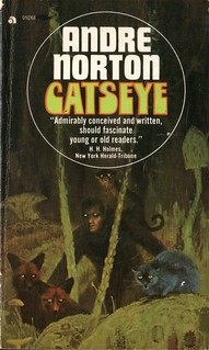 Catseye by Andre Norton. Ace 1975.