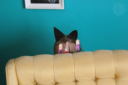 cat puppeteer