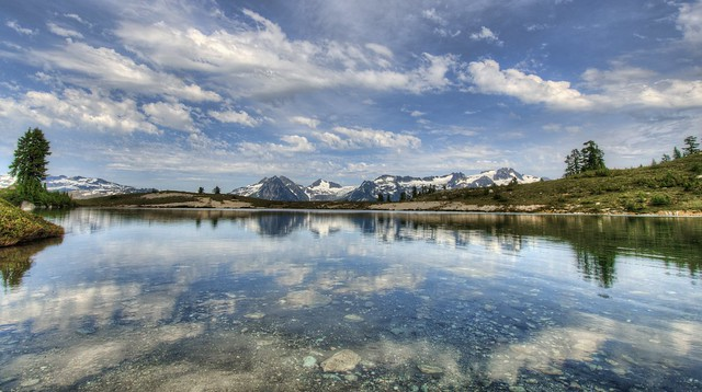 Elfin Lakes, Garibaldi Provincial Park, between Whister and Squamish, British Columbia, Canada