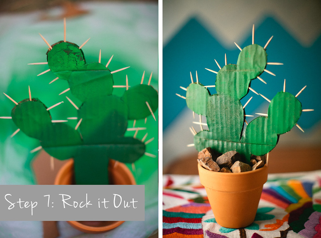make it monday diy cactus decor las vegas wedding