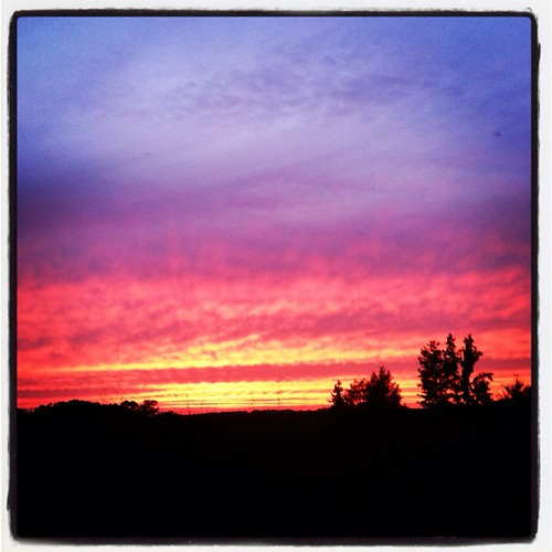 sunset summer sky sun sc lexington iphone
